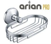 Arian Pro Soap Basket Tray Dish Chrome